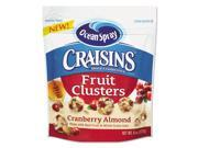 Craisins Fruit Clusters Cranberry Almond 8 oz Bag 12 Carton