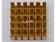 2PCS Heat Sink 22x22x5mm Aluminum 22*22*5MM for Router CPU IC good