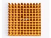 3PCS Heat sink 40*40*11MM IC Heat sink Aluminum 40X40X11MM Cooling Fin