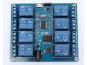 8 channel MICRO USB RELAY MODULE  upper computer 5V 10A ICSE014A Precise