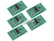 5PCS HX711 Module Weighing Sensor Pressure Sensor 24Bit AD Module good