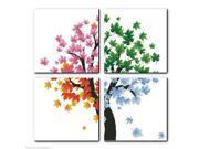 Counted Cross Stitch Kit Embroidery Set Four Seasons Tree 88*88cm Home Decor DIY 9SIA86V3207840