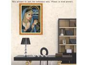 DIY Counted Cross Stitch Kit Embroidery Set 14CT Indian Beauty Pattern 42 * 58cm 9SIA86V3207861