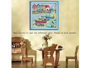 Counted Cross Stitch Kit Embroidery Set 14CT Love Harbor 32 * 33cm Home Decor