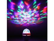 Foxnovo B22 3W AC85-260V Rotating RGB LED Spot Light Bulb & E27 3W AC85-260V Rotating RGB LED Spot Light Bulb Set 9SIA86X3H01261