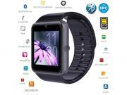 Foxnovo Bluetooth Smartwatch Smart Watch with SIM Card Slot and 2.0MP Camera for iPhone / Samsung and Android Phones