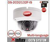 HIKVISION Camera DS-2CD2132F-IS 3MP 2.8MM Lens CCTV Camera