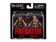 Minimates Predator Series 1 Dutch And Predator Figure Set 9SIA88C5MM5391