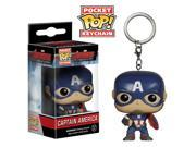 Avengers Age of Ultron Captain America Pocket Pop! Vinyl Figure Key Chain 9SIA57X7BD3530