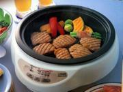 Tiger Chinese Hot Pot |CPKD13U| includes deep pan & BBQ plate