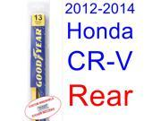2012-2014 Honda CR-V Wiper Blade (Rear) (2013)