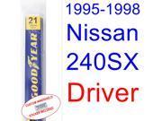 1995-1998 Nissan 240SX Wiper Blade (Driver) (1996,1997)