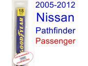 2005-2012 Nissan Pathfinder Wiper Blade (Passenger) (2006,2007,2008,2009,2010,2011)