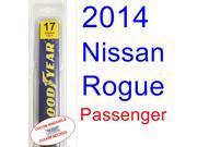 2014 Nissan Rogue Wiper Blade (Passenger)