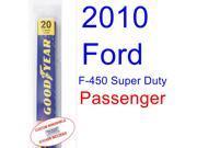 2010 Ford F-450 Super Duty Wiper Blade (Passenger)