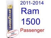 2011-2014 Ram 1500 Wiper Blade (Passenger) (2012,2013)