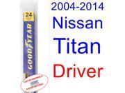 2004-2014 Nissan Titan Wiper Blade (Driver) (2005,2006,2007,2008,2009,2010,2011,2012,2013)