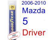 2006-2010 Mazda 5 Wiper Blade (Driver) (2007,2008,2009)