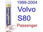 1999-2004 Volvo S80 Wiper Blade (Passenger) (2000,2001,2002,2003) 9SIA89T32K8357
