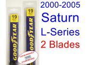2000-2005 Saturn L-Series Replacement Wiper Blade Set/Kit (Set of 2 Blades) (2001,2002,2003,2004) 9SIA89T32K8282