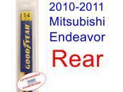 2010-2011 Mitsubishi Endeavor Wiper Blade (Rear)