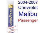 2004-2007 Chevrolet Malibu Maxx LS Wiper Blade (Passenger) (2005,2006)