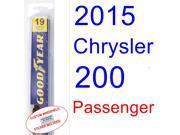 2015 Chrysler 200 Wiper Blade (Passenger)