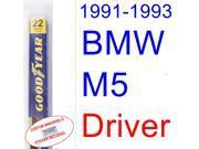 1991-1993 BMW M5 Wiper Blade (Driver) (1992)