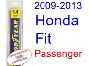 2009-2013 Honda Fit Wiper Blade (Passenger) (2010,2011,2012)