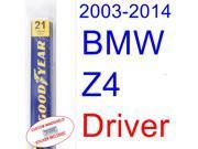 2003-2014 BMW Z4 Wiper Blade (Driver) (2004,2005,2006,2007,2008,2009,2010,2011,2012,2013) 9SIA89T32M0040