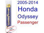2005-2014 Honda Odyssey Wiper Blade (Passenger) (2006,2007,2008,2009,2010,2011,2012,2013)