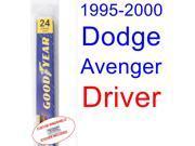 1995-2000 Dodge Avenger Wiper Blade (Driver) (1996,1997,1998,1999) 9SIA89T30Z3414