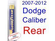 2007-2012 Dodge Caliber Wiper Blade (Rear) (2008,2009,2010,2011)