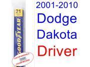 2001-2010 Dodge Dakota Wiper Blade (Driver) (2002,2003,2004,2005,2006,2007,2008,2009) 9SIA89T3112052