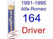 1991-1995 Alfa Romeo 164 Wiper Blade (Driver) (1992,1993,1994)