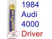 1984 Audi 4000 Wiper Blade (Driver)