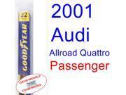 2001 Audi Allroad Quattro Wiper Blade (Passenger)