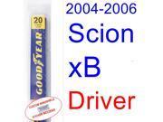 2004-2006 Scion xB Wiper Blade (Driver) (2005)