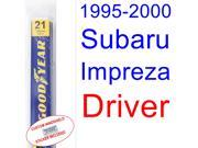 1995-2000 Subaru Impreza(Outback) Wiper Blade (Driver) (1996,1997,1998,1999)