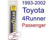 1993-2002 Toyota 4Runner Wiper Blade (Passenger) (1994,1995,1996,1997,1998,1999,2000,2001)