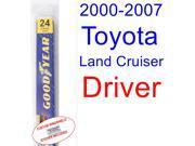 2000-2007 Toyota Land Cruiser Wiper Blade (Driver) (2001,2002,2003,2004,2005,2006) 9SIA89T3112736