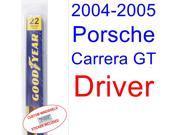 2004-2005 Porsche Carrera GT Wiper Blade (Driver)