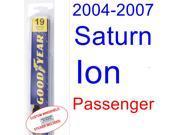 2004-2007 Saturn Ion Wiper Blade (Passenger) (2005,2006)