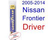 2005-2014 Nissan Frontier Wiper Blade (Driver) (2006,2007,2008,2009,2010,2011,2012,2013) 9SIA89T3111303