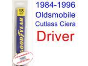 1984-1996 Oldsmobile Cutlass Ciera Wiper Blade (Driver) (1985,1986,1987,1988,1989,1990,1991,1992,1993,1994,1995) 9SIA89T3110819