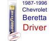 1987-1996 Chevrolet Beretta Wiper Blade (Driver) (1988,1989,1990,1991,1992,1993,1994,1995) 9SIA89T3112358