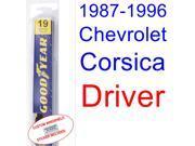 1987-1996 Chevrolet Corsica Wiper Blade (Driver) (1988,1989,1990,1991,1992,1993,1994,1995) 9SIA89T3112144