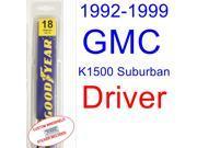 1992-1999 GMC K1500 Suburban Wiper Blade (Driver) (1993,1994,1995,1996,1997,1998)