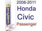 2008-2011 Honda Civic(Coupe) Wiper Blade (Passenger) (2009,2010)