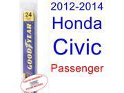 2012-2014 Honda Civic(Coupe) Wiper Blade (Passenger) (2013)